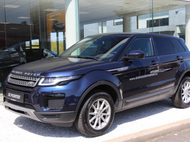 Range Rover Evoque 2.0 diesel automaat.  08/2018 – 15700 km. bei Garage De Poorter in 8530 Harelbeke