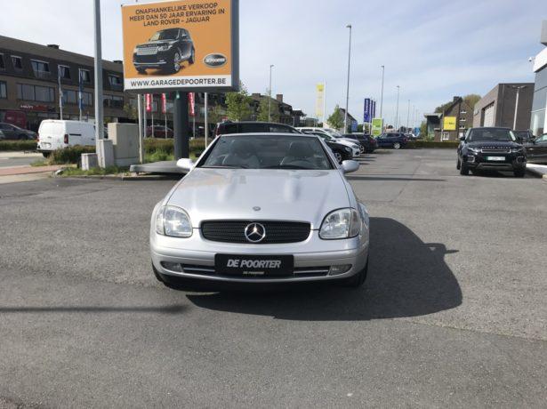 Mercedes 200 SLK Cabrio automaat 1998cc benzine. bei Garage De Poorter in 8530 Harelbeke